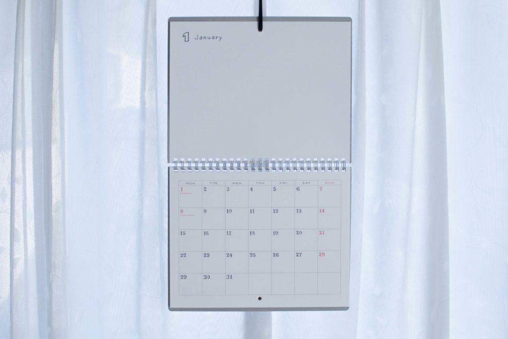 スケッチカレンダー壁掛け