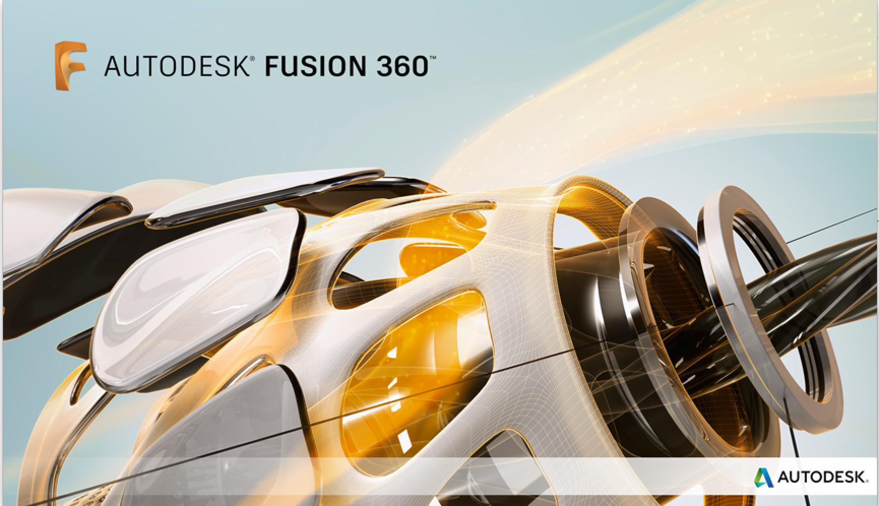 Fusion360立ち上げ中画面