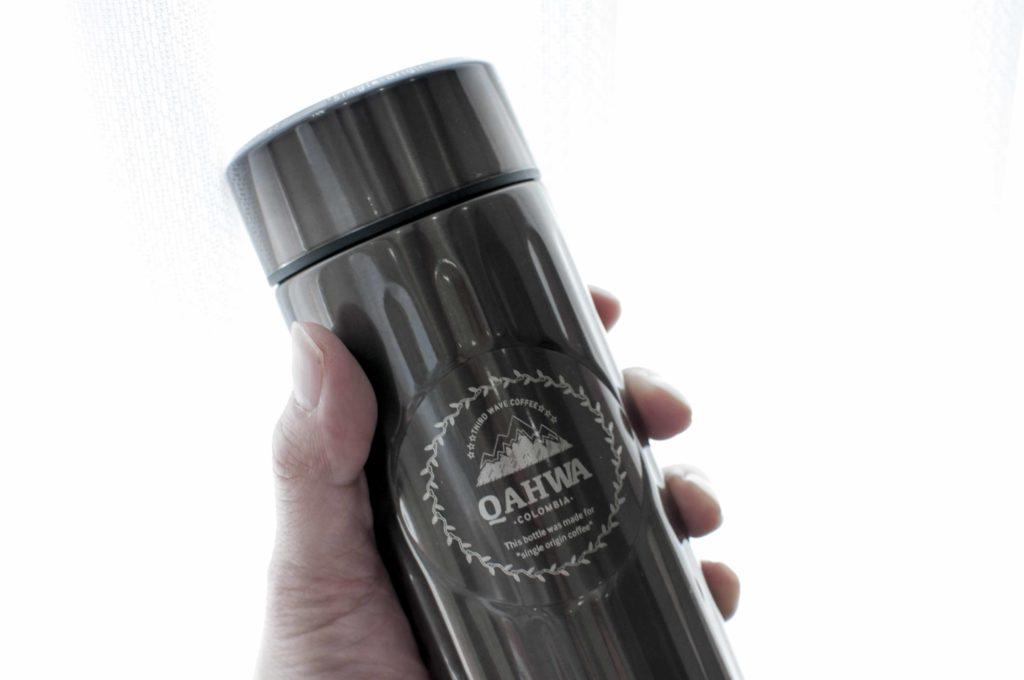 Qahwa(カフア)コーヒーボトルのサイズ感