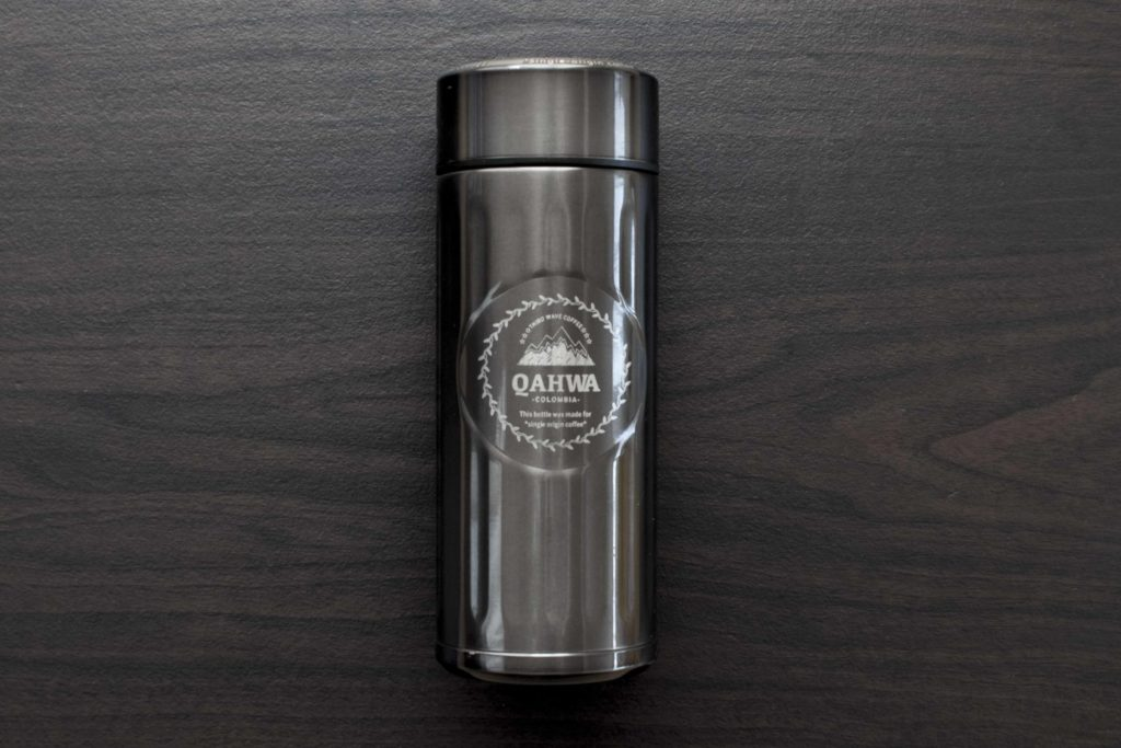 Qahwaコーヒーボトルのデザイン