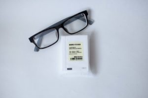 無印良品・携帯用メガネ拭き(イメージ画像)