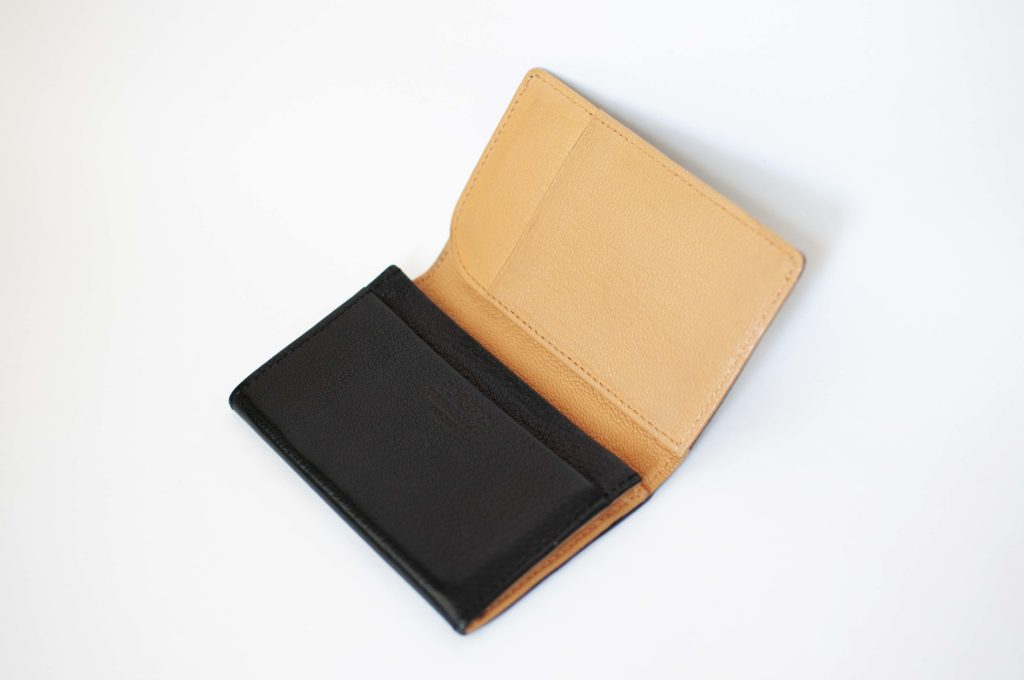 PORTER DOUBLE ・CARD CASE(開いたイメージ)