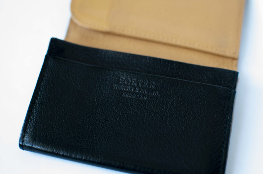 PORTER DOUBLE ・CARD CASE(ロゴ)