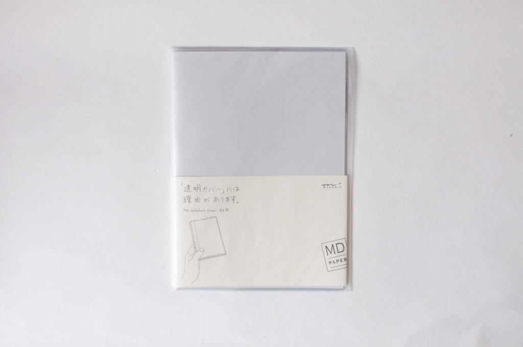 デザインフィル・ミドリ・MDノートカバー・ビニールカバー(パッケージイメージ)
