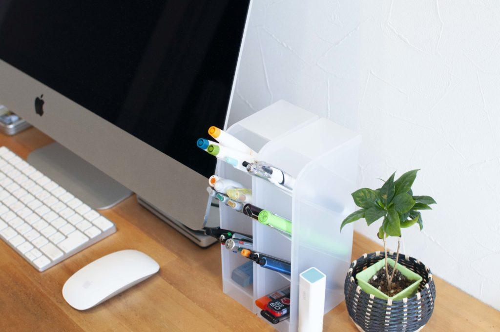 DeskLab・タワーペンスタンド(利用イメージ01)